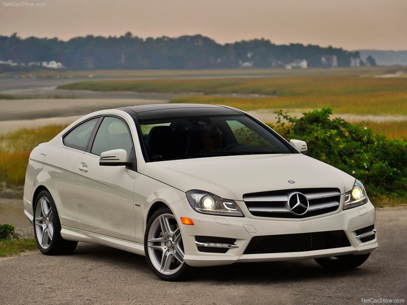 The mercedes benz c class coupe tuned by brabus released for 2012 c class mercedes benz